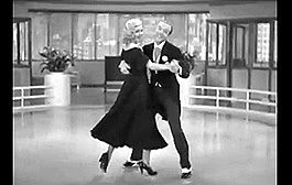 GINGER ROGERS FRED ASTAIRE RITMO LOUCO SWING TIME